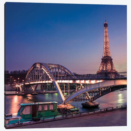 Paris XXIII Canvas Print #AFR158} by Assaf Frank Canvas Art