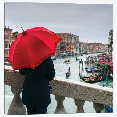 Venice I Canvas Print #AFR161} by Assaf Frank Art Print