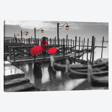 Venice III 3-Piece Canvas #AFR163} by Assaf Frank Canvas Print