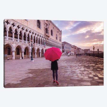 Venice IV 3-Piece Canvas #AFR164} by Assaf Frank Canvas Artwork