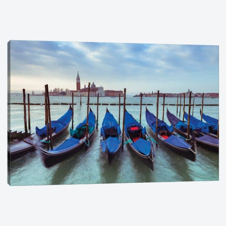 Venice VI 3-Piece Canvas #AFR166} by Assaf Frank Canvas Artwork