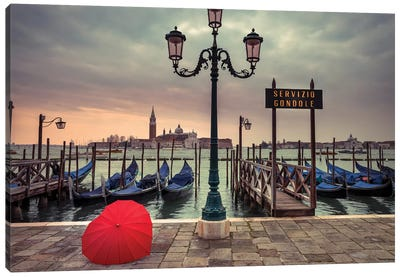Venice X Canvas Art Print