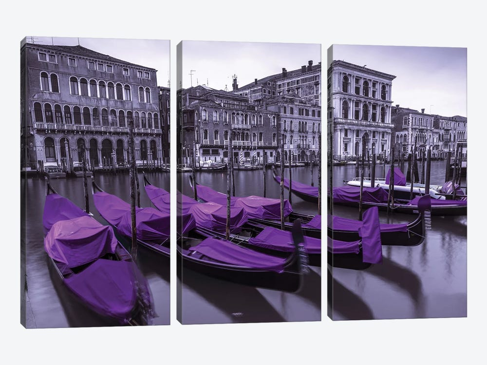 Venice XVII by Assaf Frank 3-piece Canvas Print