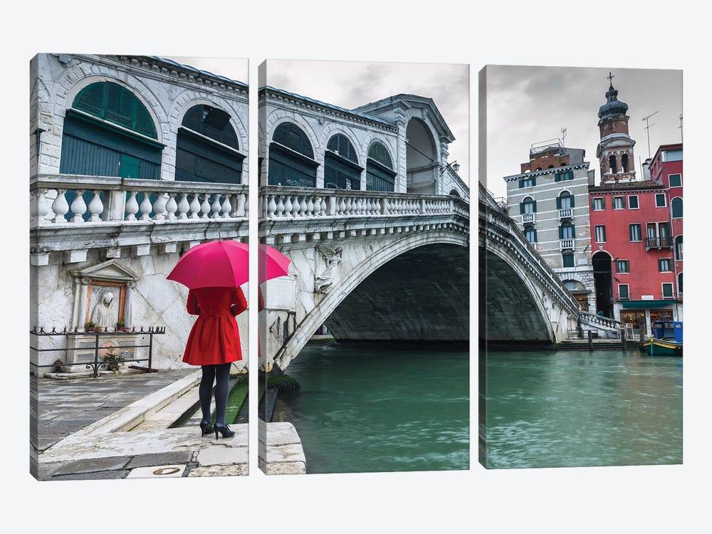 Venice XVIII by Assaf Frank 3-piece Canvas Wall Art