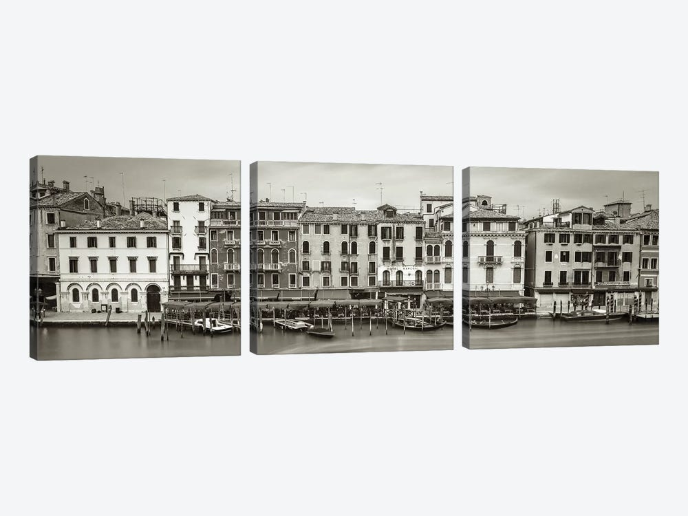 Venice XX by Assaf Frank 3-piece Canvas Print