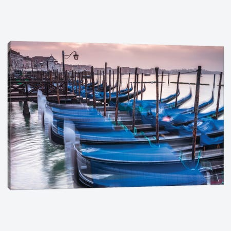Venice XXV 3-Piece Canvas #AFR185} by Assaf Frank Canvas Artwork