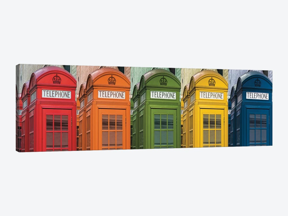 Hello London by Assaf Frank 1-piece Canvas Artwork