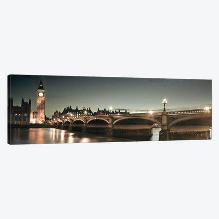 London Lights Canvas Print #AFR28} by Assaf Frank Canvas Art Print
