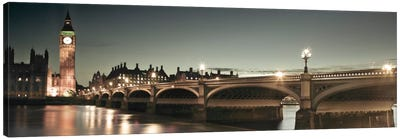 London Lights Canvas Art Print