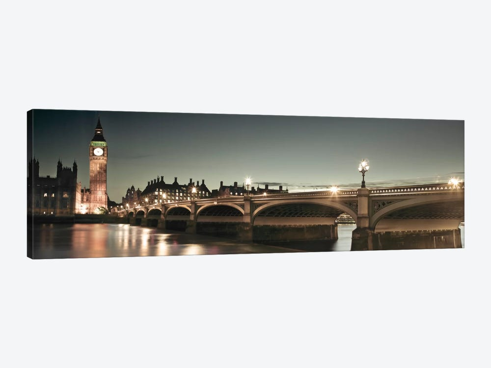 London Lights by Assaf Frank 1-piece Canvas Wall Art