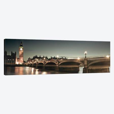 London Lights Canvas Print #AFR28} by Assaf Frank Canvas Art Print