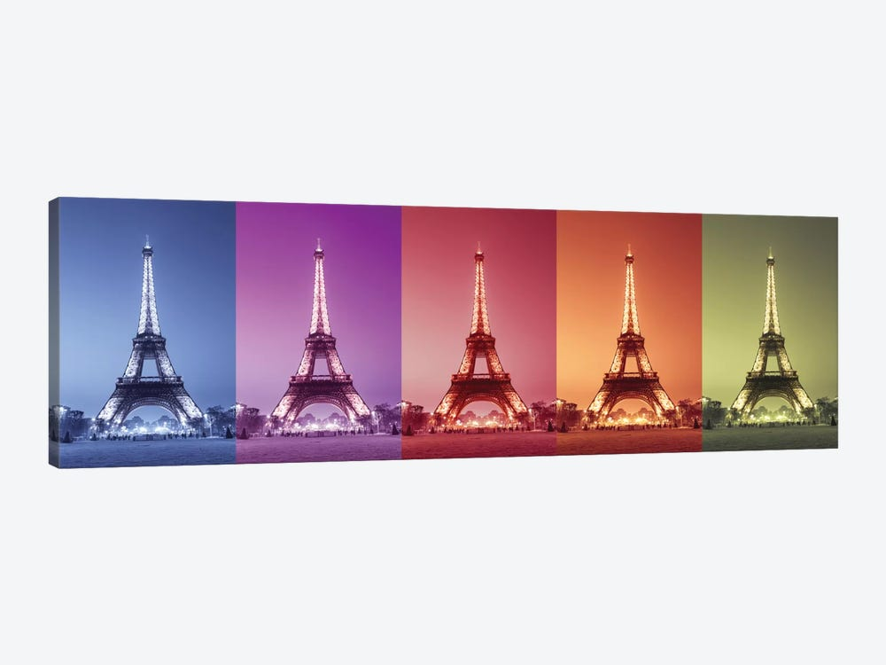 Paris Colors by Assaf Frank 1-piece Canvas Print