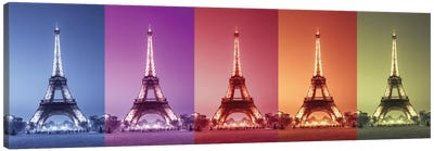 Paris Colors Canvas Art Print
