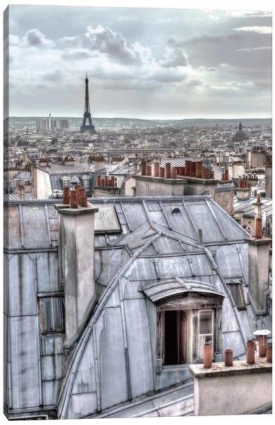 Paris Rooftops Canvas Print #AFR35