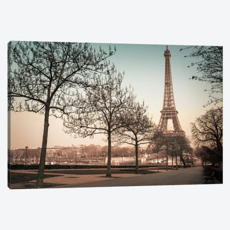 Remembering Paris Canvas Print #AFR41} by Assaf Frank Canvas Print