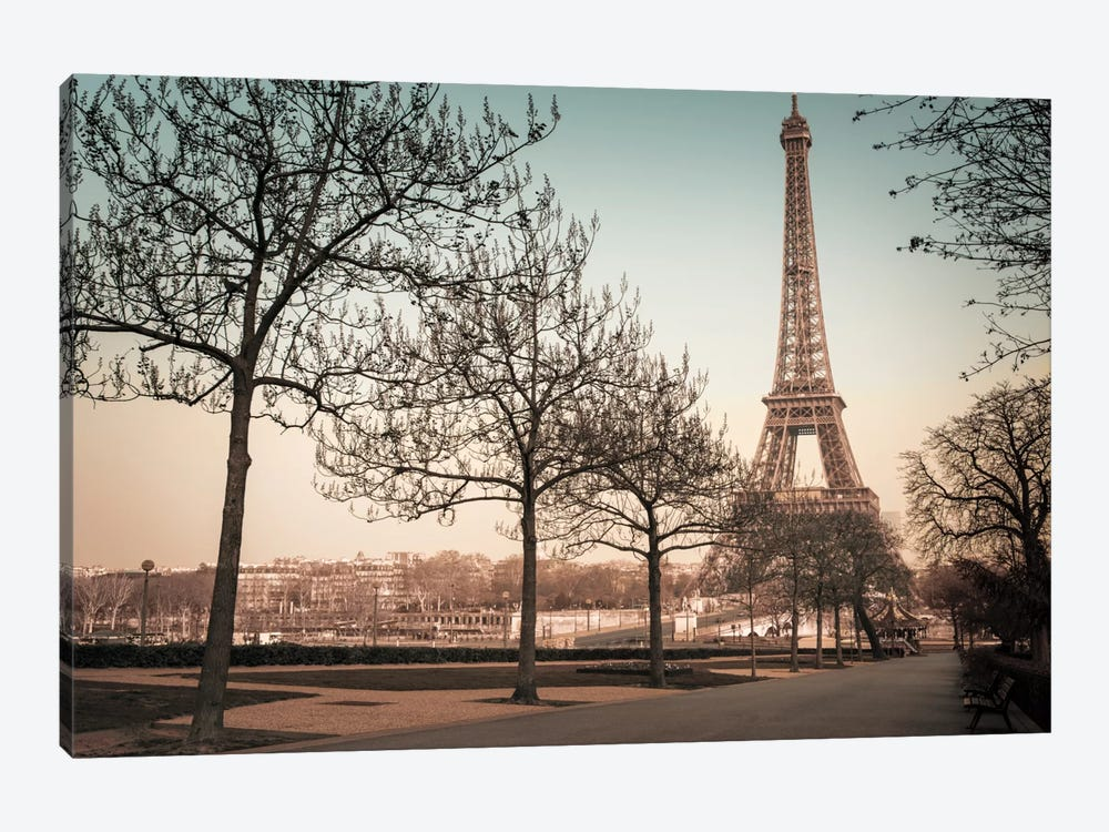 Remembering Paris 1-piece Canvas Art Print