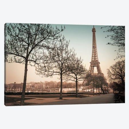 Remembering Paris Canvas Print #AFR41} by Assaf Frank Canvas Print