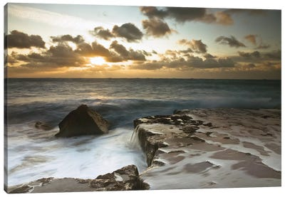 Splendid Sunrise Canvas Art Print