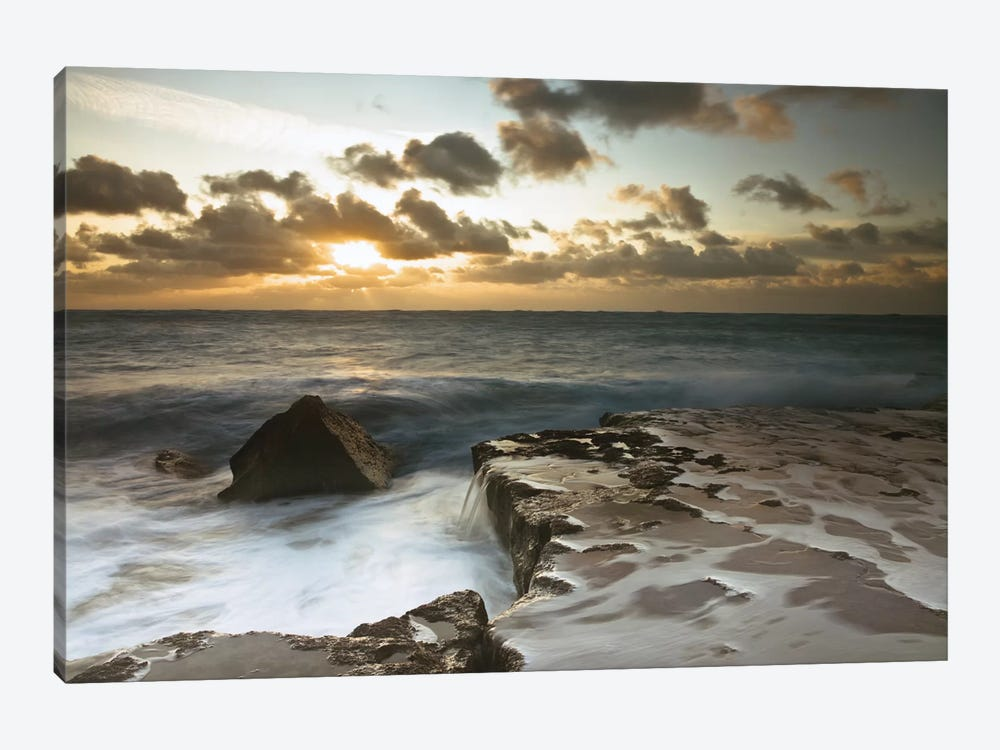 Splendid Sunrise 1-piece Canvas Art Print