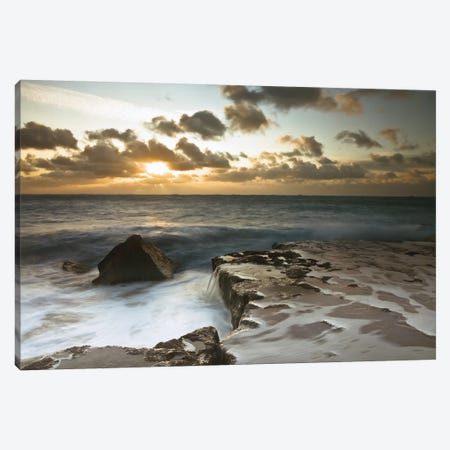 Splendid Sunrise Canvas Print #AFR58} by Assaf Frank Canvas Art