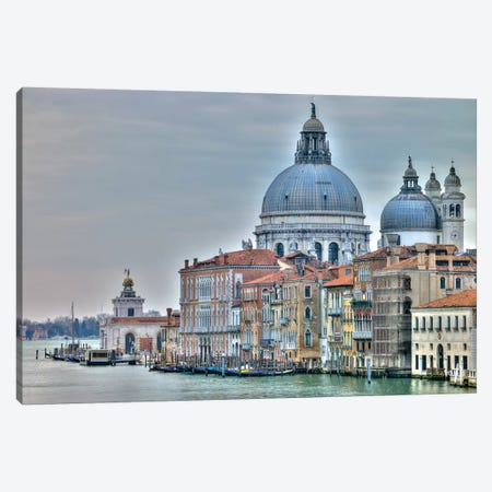 Venice Lately Canvas Print #AFR61} by Amanda J. Brooks Art Print