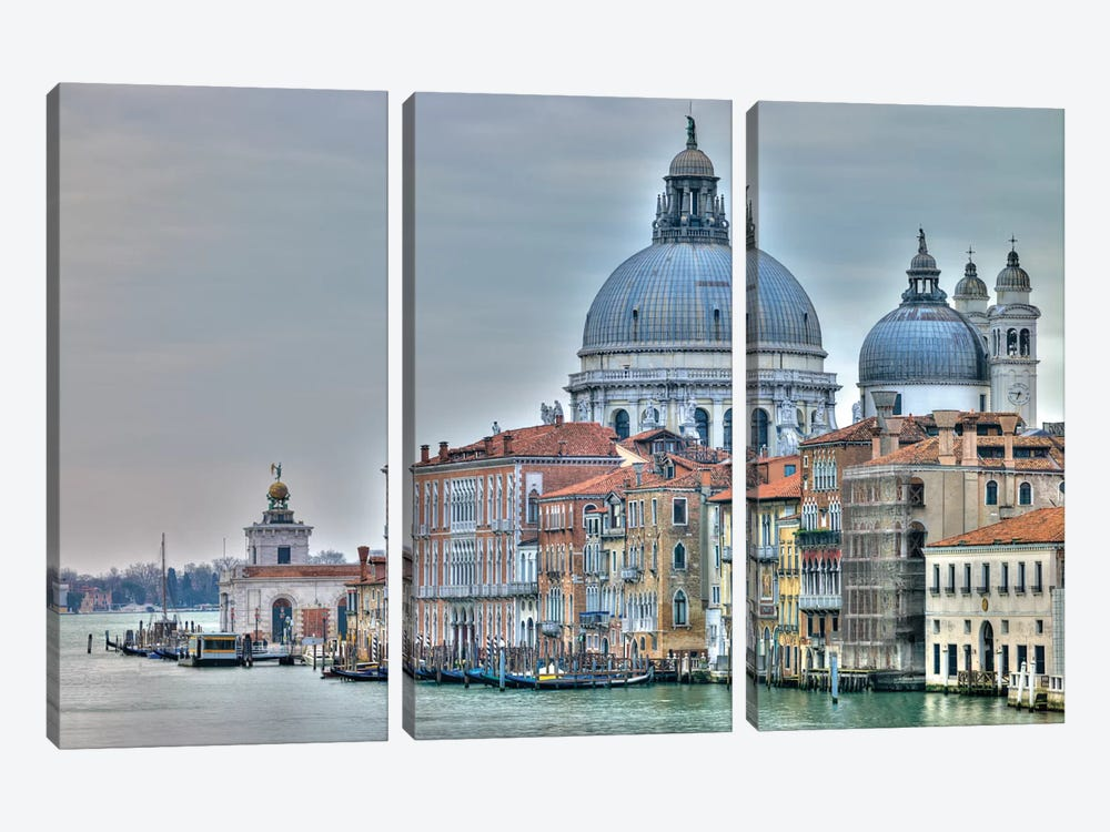 Venice Lately by Assaf Frank 3-piece Canvas Art Print