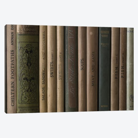 Books II Canvas Print #AFR89} by Assaf Frank Canvas Print