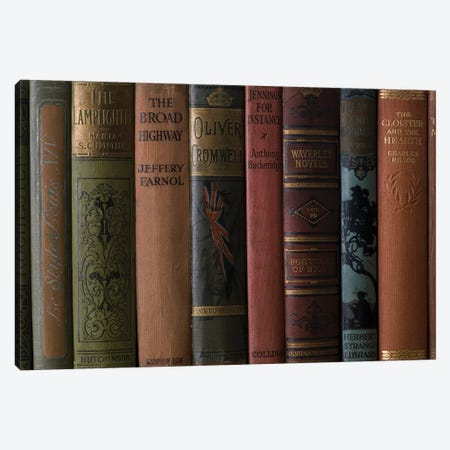 Books III Canvas Print #AFR90} by Assaf Frank Canvas Artwork