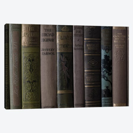 Books IV Canvas Print #AFR91} by Assaf Frank Canvas Art
