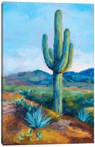 Distant Hills Canvas Art Print