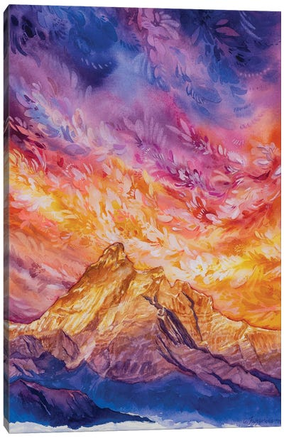 Frolic Canvas Art Print