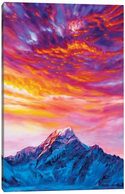 Glow Canvas Art Print
