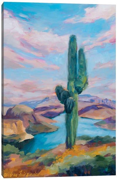 Lake View0 Canvas Art Print