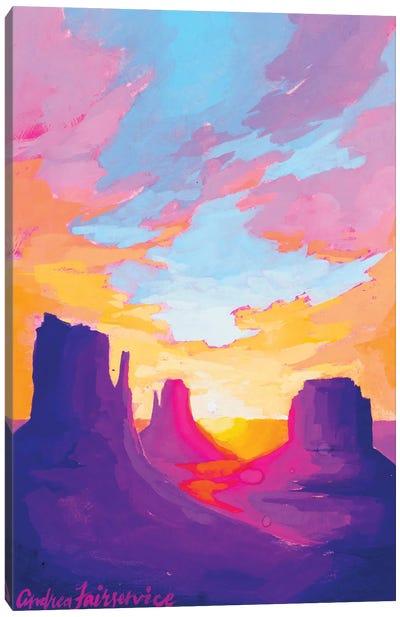 Landscapes That Glow Canvas Art Print