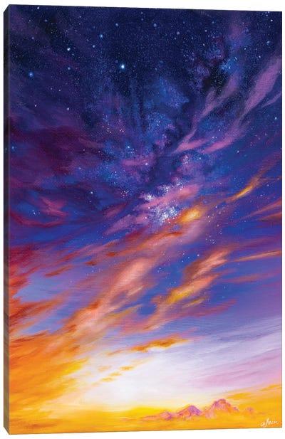 Longs Peak Glow Canvas Art Print