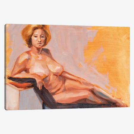 Montco 4Hr Figure I Canvas Print #AFS39} by Andrea Fairservice Canvas Art Print