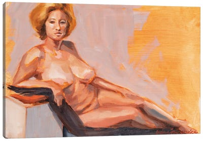 Montco 4Hr Figure I Canvas Art Print