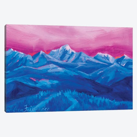 Mountain Study III Canvas Print #AFS44} by Andrea Fairservice Canvas Art Print