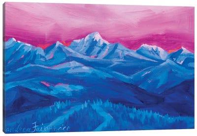 Mountain Study III Canvas Art Print