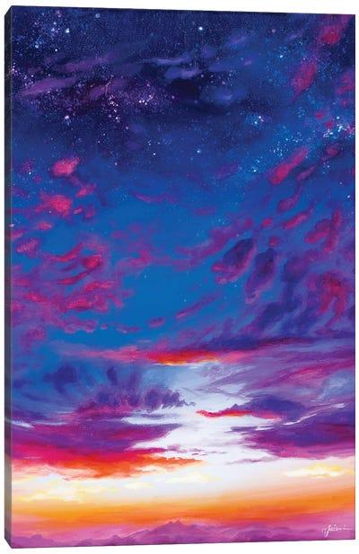 Mountain Twilight II Canvas Art Print