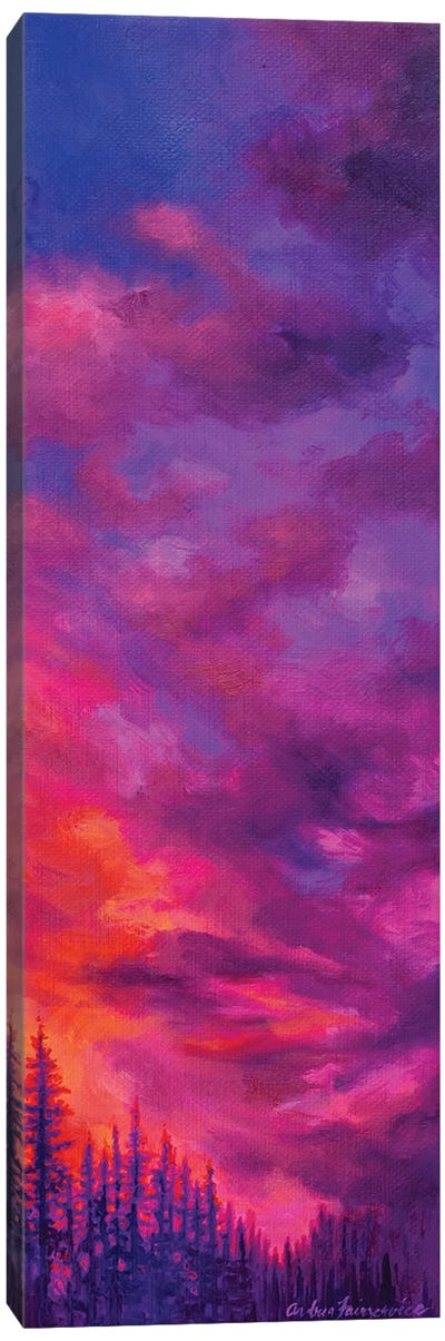 Multi Pines Canvas Art Print
