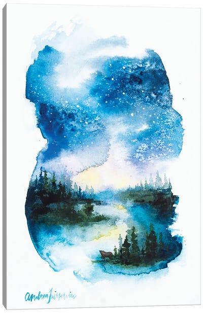 Night Reflections Canvas Art Print