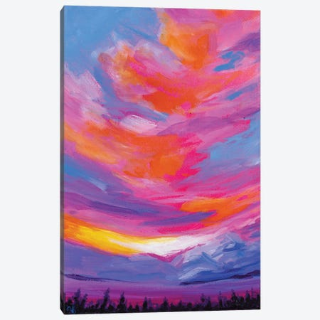 November Sunset I 3-Piece Canvas #AFS48} by Andrea Fairservice Canvas Artwork