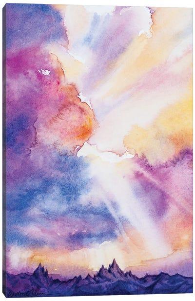 Peaks Canvas Art Print