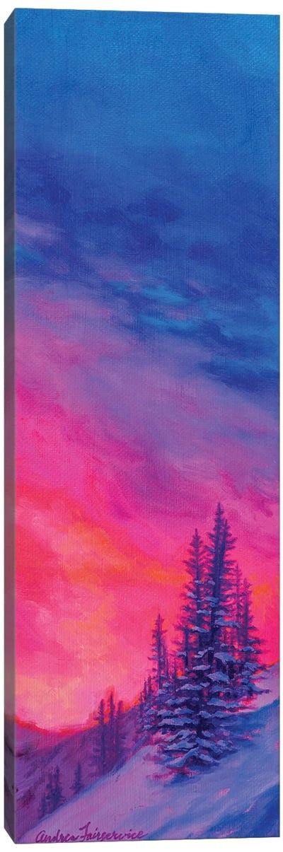 Single Pine II Canvas Art Print