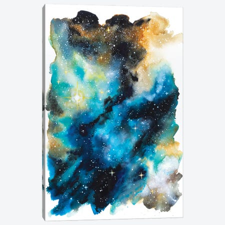 Space Study Canvas Print #AFS62} by Andrea Fairservice Canvas Art