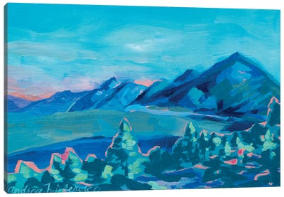 Tahoe Views Canvas Art Print