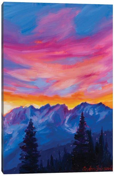 Cascades Canvas Art Print