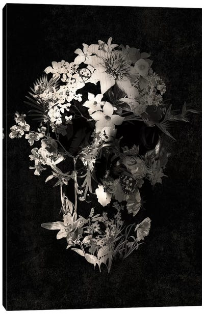 Spring Skull Canvas Art Print