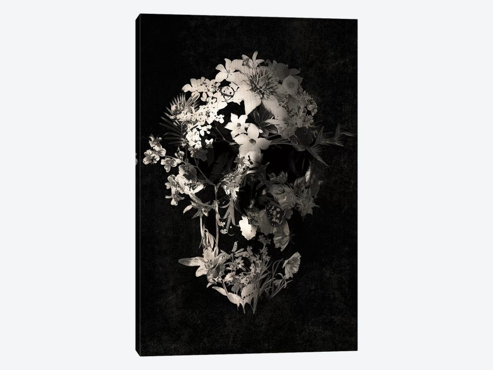 Spring Skull by Ali Gulec 1-piece Canvas Artwork